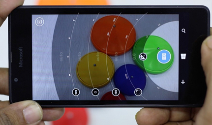 Microsoft Lumia 550 camera