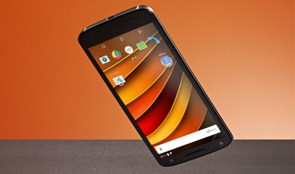 Motorola Moto X force design