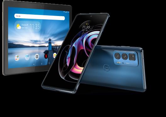 Claim a Lenovo M10 Tablet   Motorola Edge 20 Pro   All purchases at idmobile.co.uk