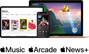 Claim Apple Music, Arcade and News+ subscription   All purchases at idmobile.co.uk