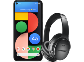 Claim Bose QC 35 IIs Headphones | Google Pixel 4a (5G) & Pixel 5 (5G)