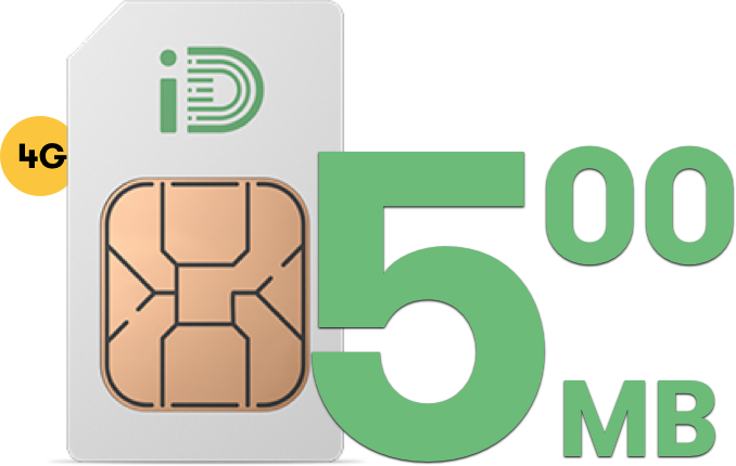 500MB SIM Only