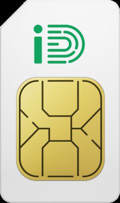 SIM Card front