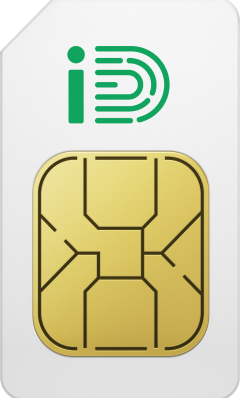 SIM Card front