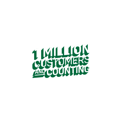 1 Million Customers AND Counting