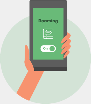 Best phone and data option for roaming