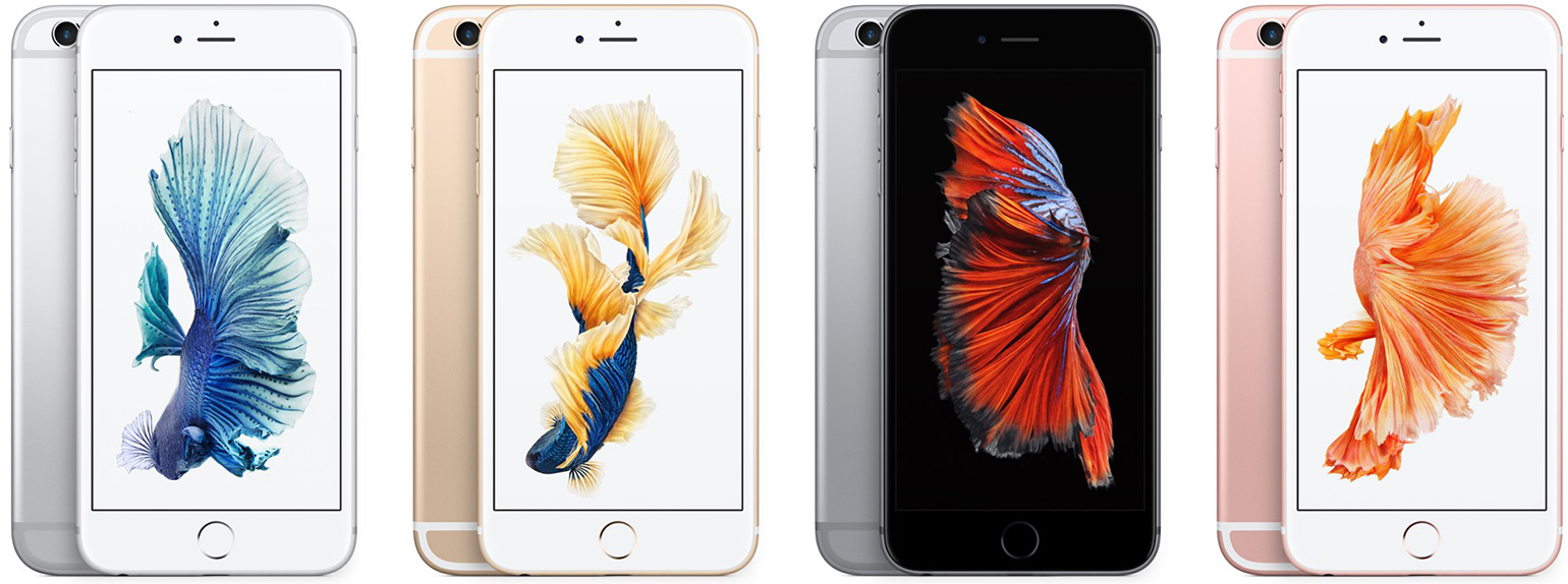 iPhone 6s Back Front with Images Shown