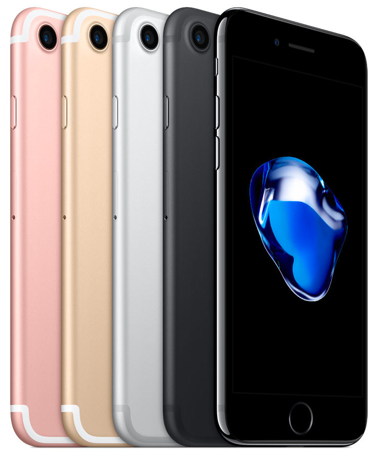 iPhone 7 Back Front Multiple Colours