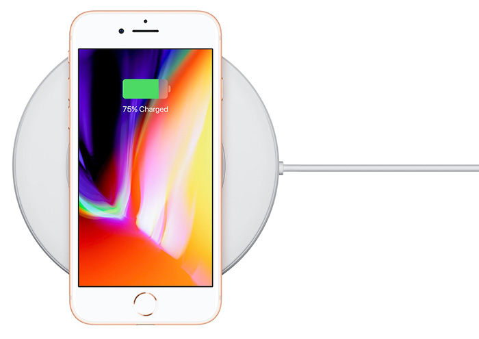 iPhone 8 Charging Wireless Charger