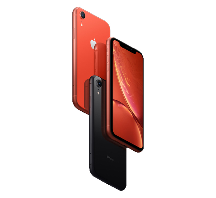iphone XR Back Front