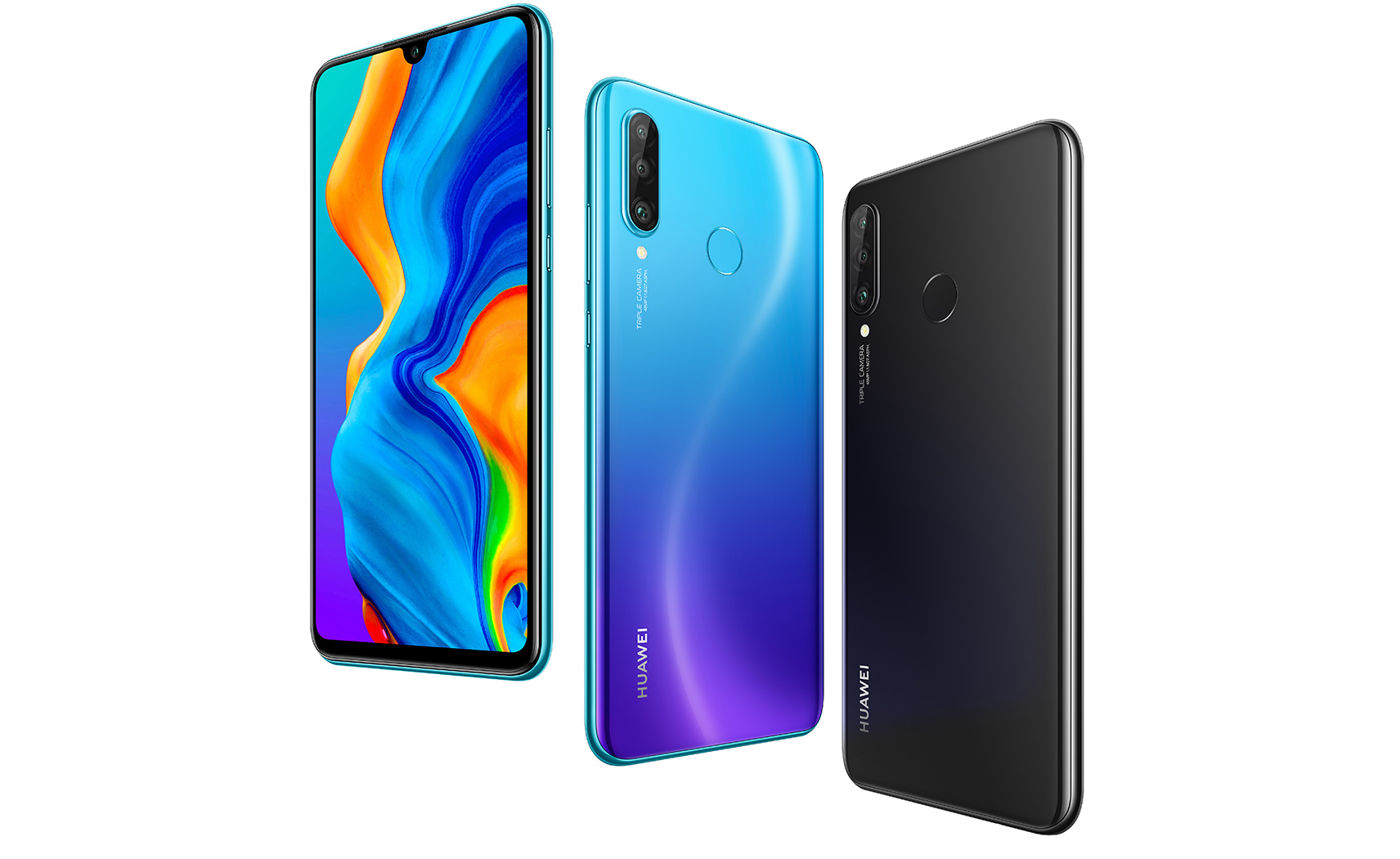 Huawei P30 Lite Front Back