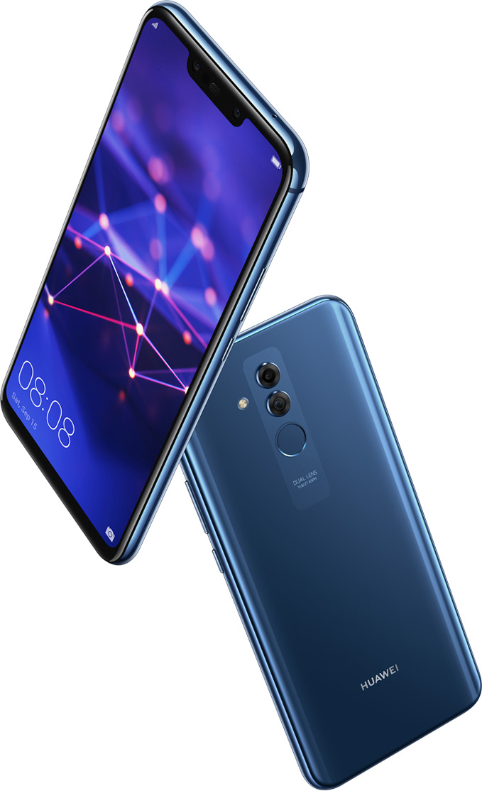 Huawei Mate 20 Lite Front Back