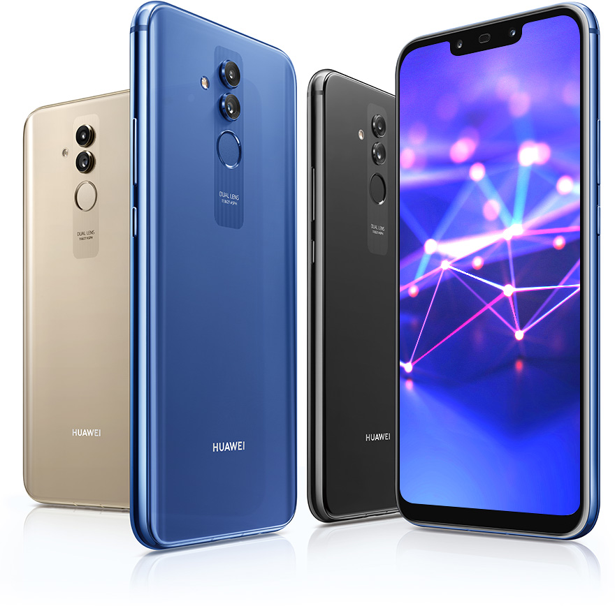 Huawei Mate 20 Lite Back Front