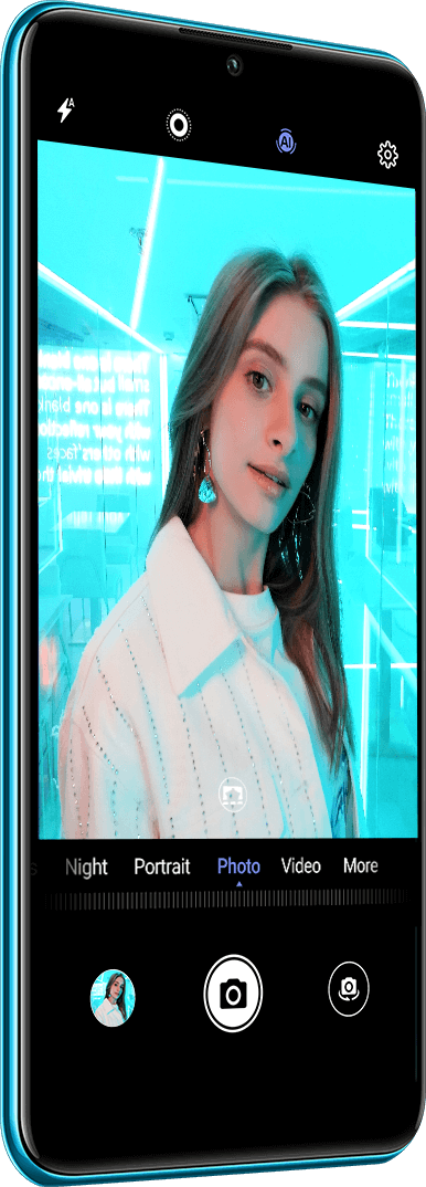 Huawei P30 lite AIScene Recognition