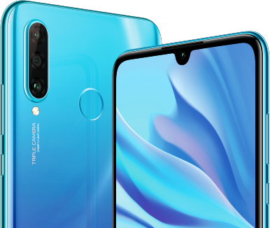 Huawei P30 Lite Back Front