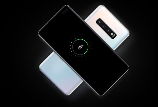 Samsung Galaxy S10 Charging 63%