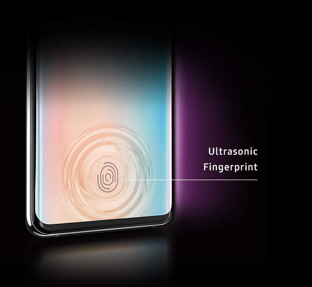 Samsung Galaxy S10 Ultrasonic Fingerprint