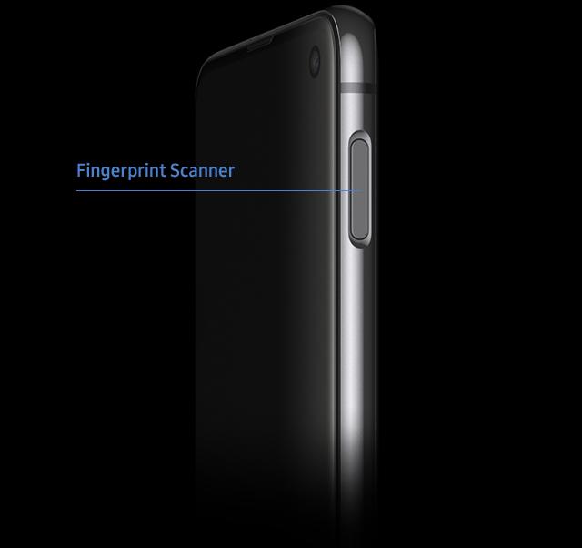 Samsung Galaxy S10e Fingerprint Scanner