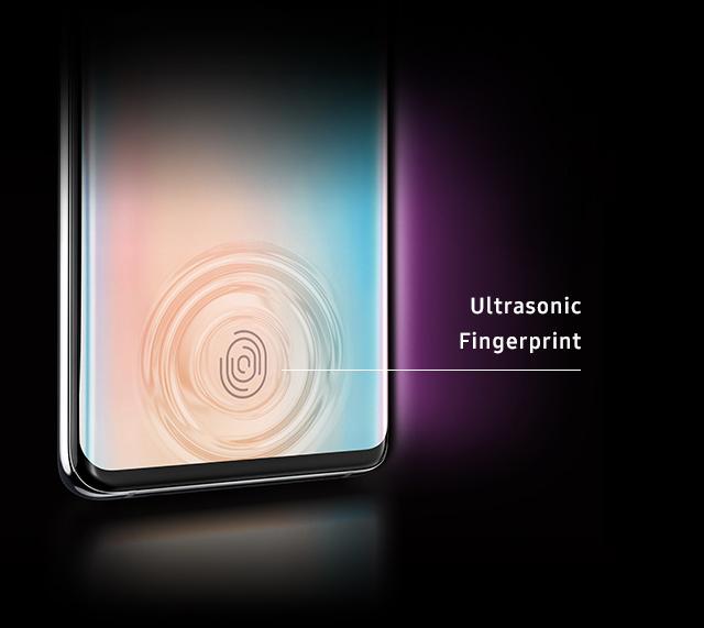 Samsung Galaxy S10 Plus Ultrasonic Fingerprint