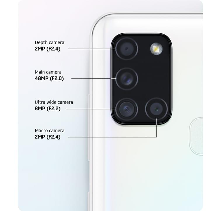Samsung Galaxy A21s Camera
