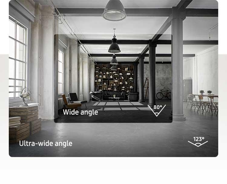 Capture moments in a wide vs ultra-wide angle