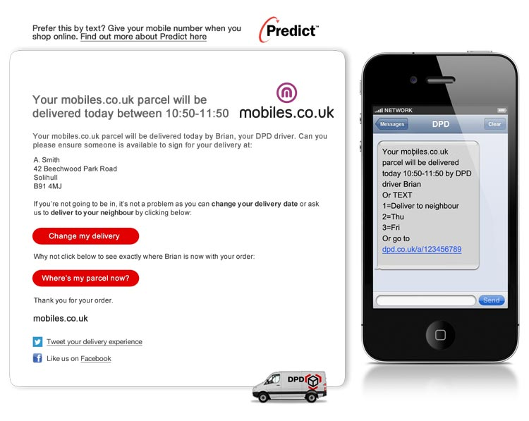 Free Delivery - Delivery details