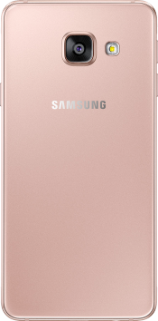 Galaxy A3 2016 Pink Gold (Back)