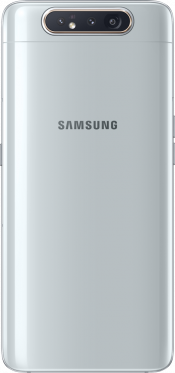 Galaxy A80 128GB Silver (Back)