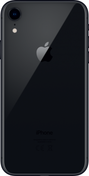iPhone XR 128GB Black Refurbished (Back)