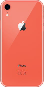 iPhone XR 128GB Coral Refurbished (Back)