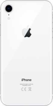 iPhone XR 128GB White Refurbished (Back)