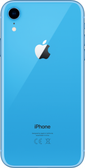 iPhone XR 64GB Blue Refurbished (Back)