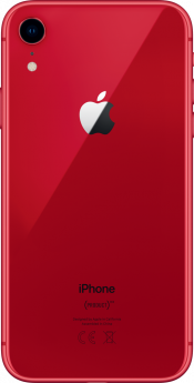 iPhone XR 64GB Red Refurbished (Back)
