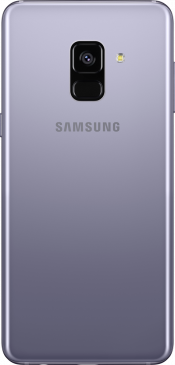 Galaxy A8 Orch Grey (Back)