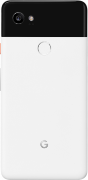 Pixel 2 XL 64GB Black & White (Back)