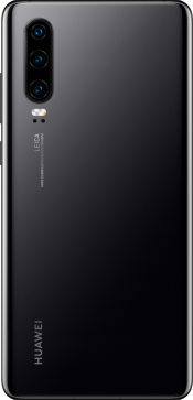 P30 128GB Black (Back)