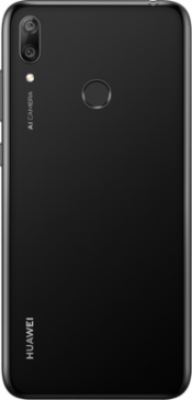 Y7 2019 32GB Black (Back)