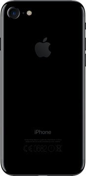 iPhone 7 128GB Jet Black Refurbished (Back)
