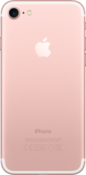 iPhone 7 32GB Rose Gold Refurbished (Back)