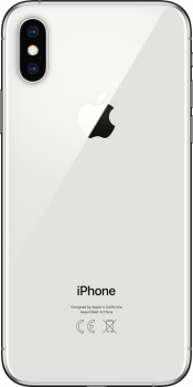 iPhone XS 64GB Silver (Back)
