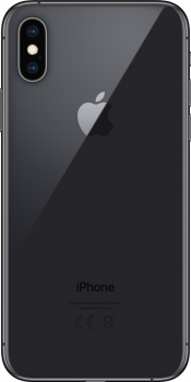 iPhone XS 256GB Space Grey (Back)