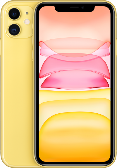 Apple iPhone 11 64GB Yellow - SIM Free & £549.00 Upfront - No contract