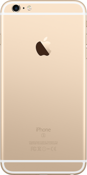 iPhone 6s Plus 128GB Gold (Back)