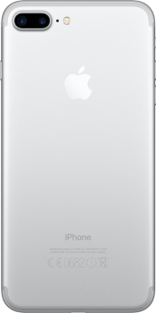 iPhone 7 Plus 128GB Silver (Back)