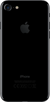 iPhone 7 128GB Jet Black (Back)