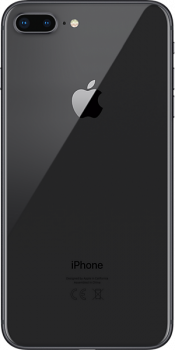 iPhone 8 Plus 64GB Space Grey (Back)