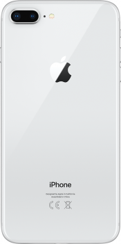 iPhone 8 Plus 256GB Silver (Back)