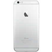 iPhone 6 Plus 128GB Silver (Back)
