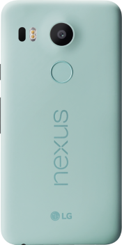 Nexus 5X 32GB Ice Blue (Back)