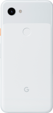 Pixel 3a 64GB Clearly White (Back)